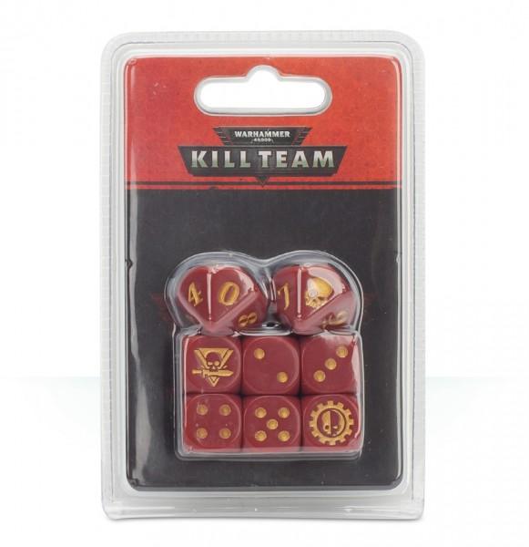 Würfel für Kill Team: Adeptus Mechanicus