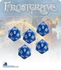 Frostgrave D20 Dice (5)