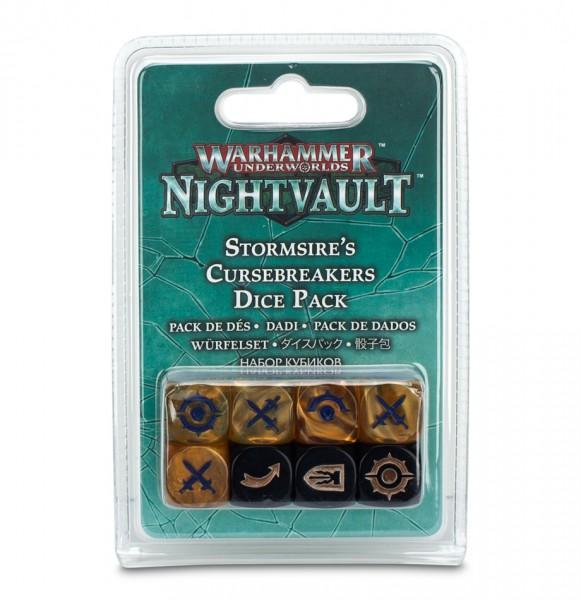 Warhammer Underworlds: Nightvault – Würfelset für Sturmvaters Fluchbrecher