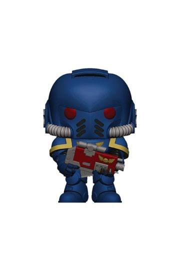 Warhammer 40K POP! Games Vinyl Figur Ultramarines Intercessor 9 cm