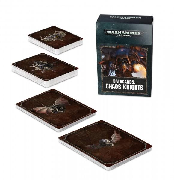 Datakarten der Chaos Knights (DE)
