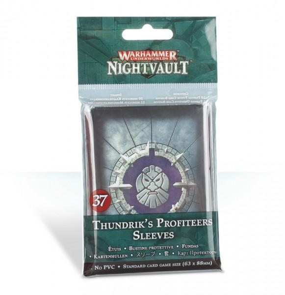 Kartenhüllen für Warhammer Underworlds: Nightvault – Thundriks Profitjäger
