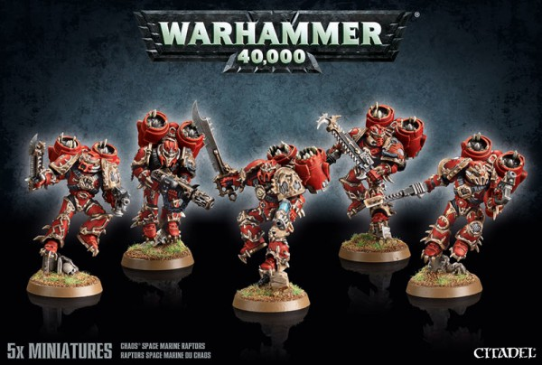 Raptoren der Chaos Space Marines