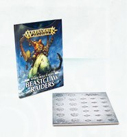 Warscroll-Karten: Beastclaw Raiders