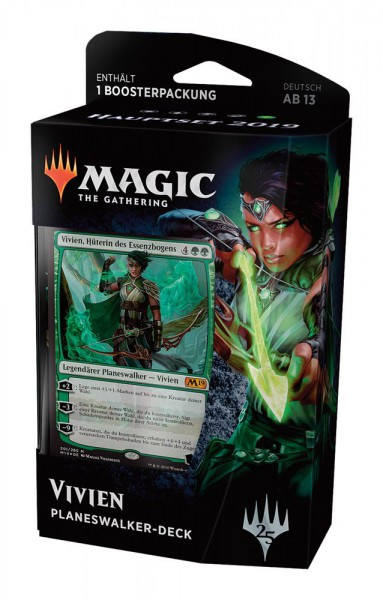 Magic the Gathering Hauptset 2019 Vivien Planeswalker Deck (DE)
