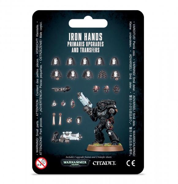 Upgrades: Iron Hands Primaris & Abziehbilder