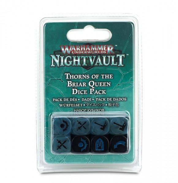 Warhammer Underworlds: Nightvault – Würfelset für die Dornen der Rosenkönigin
