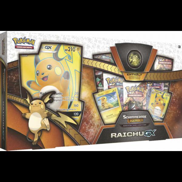 Pokemon Raichu-GX Schimmernde Legenden Spezial-Kollektion (DE)