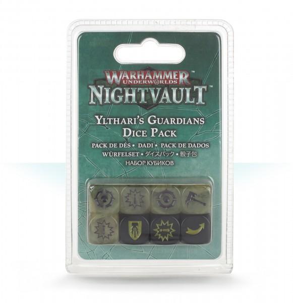 Warhammer Underworlds: Nightvault – Würfelset für die Yltharis Wächter