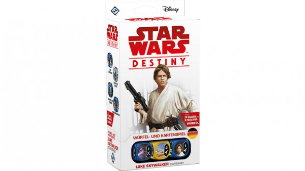 Star Wars: Destiny – Luke Skywalker Starter-Set (DE)