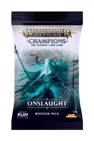 Warhammer Age of Sigmar: Champions Wave 2: Onslaught Booster (Engl.)
