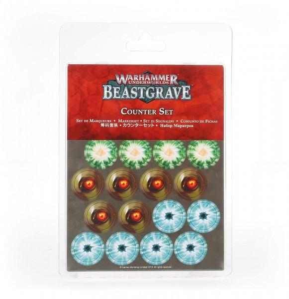 Markerset für Warhammer Underworlds: Beastgrave