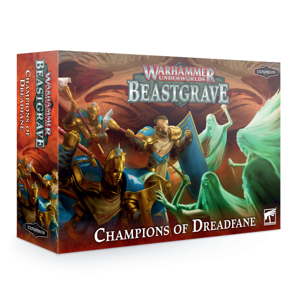 Warhammer Underworlds: Beastgrave – Champions des Dreadfane (DE)
