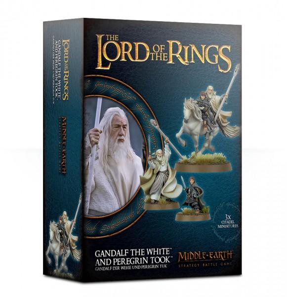 Gandalf™ der Weiße und Peregrin Tuk™