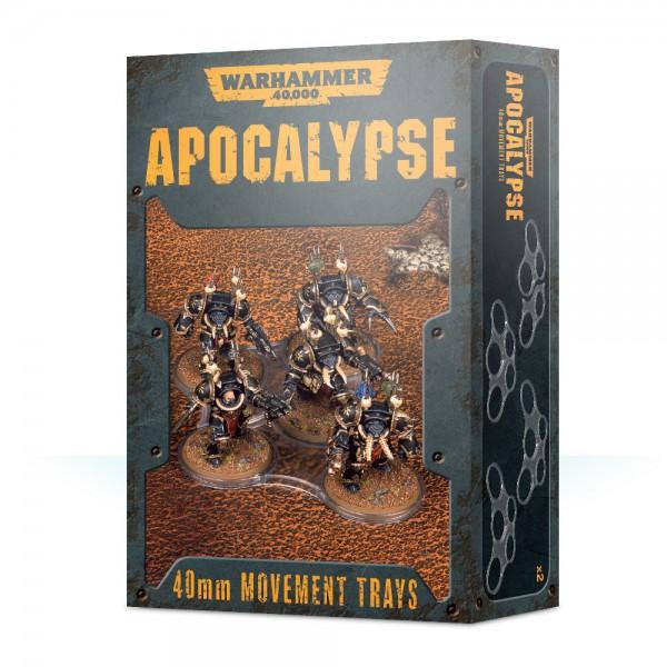 Einheitenbases für Apocalypse (40 mm)
