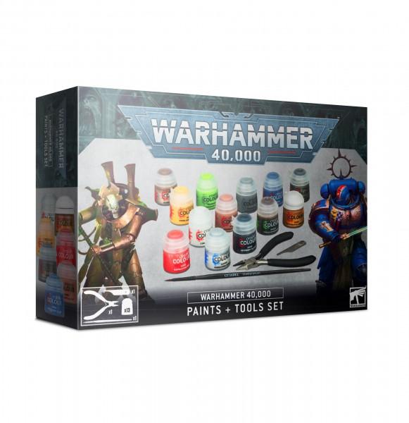 Warhammer 40.000: Farben + Werkzeugset