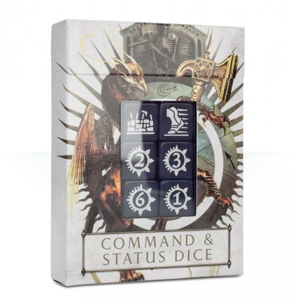 Befehls- und Statuswürfel für Warhammer Age of Sigmar