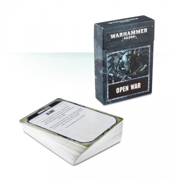 Offener-Krieg-Karten für Warhammer 40.000 (ENG)