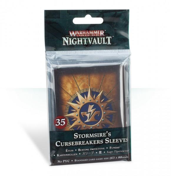 Kartenhüllen für Warhammer Underworlds: Nightvault – Sturmvaters Fluchbrecher