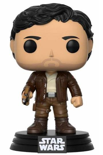 Star Wars Episode VIII POP! Vinyl Wackelkopf-Figur Poe Dameron 9 cm