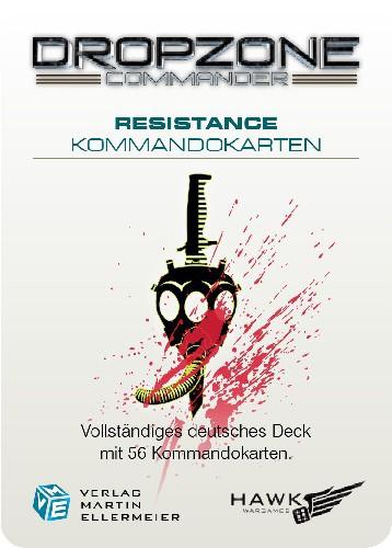 Resistance Kommandokarten (DE)