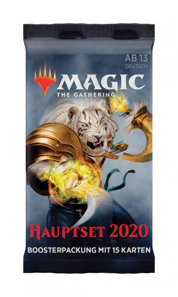 Magic the Gathering Hauptset 2020 Booster (DE)