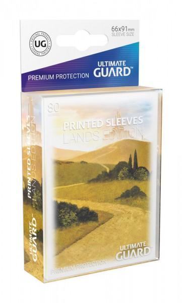 Ultimate Guard Printed Sleeves Standardgröße Lands Edition Ebene