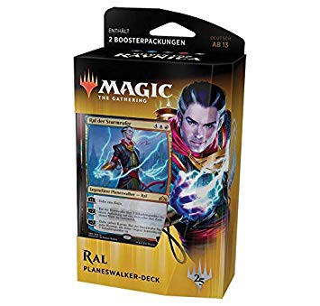 Magic the Gathering Gilden von Ravnica Deck Ral (DE)