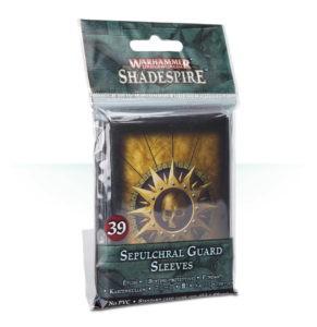 Kartenhüllen für Warhammer Underworlds: Shadespire – die Grabwache