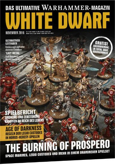 White Dwarf November 2016 (DE)