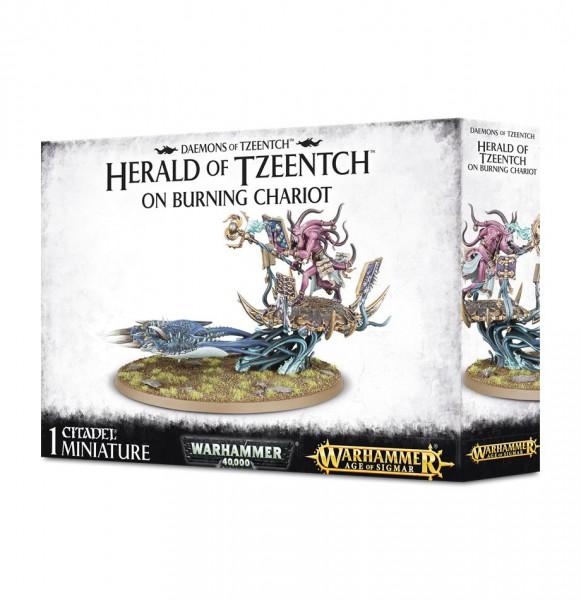 Fateskimmer, Herald of Tzeentch on Burning Chariot