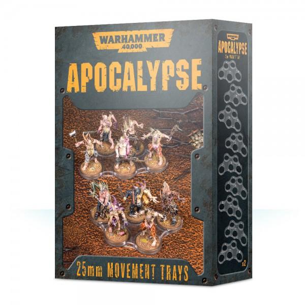 Einheitenbases für Apocalypse (25 mm)