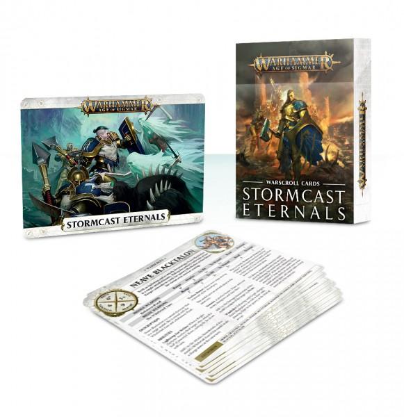 Schriftrollen-Karten: Stormcast Eternals (DE)