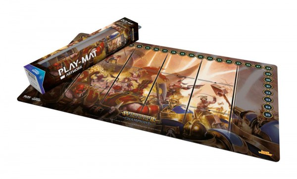 Warhammer Age of Sigmar: Champions Play-Mat Chaos vs. Order 64 x 35 cm