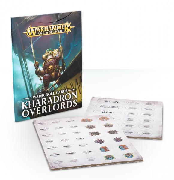 Warscroll-Karten: Kharadron Overlords
