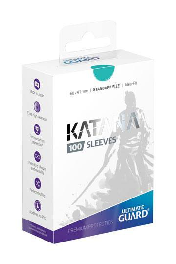 Ultimate Guard Katana Sleeves Standardgröße Türkis (100)