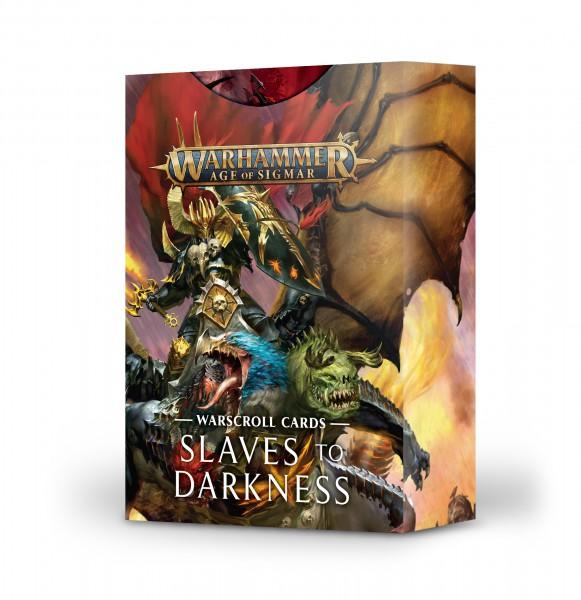 Schriftrollenkarten der Slaves to Darkness (DE)
