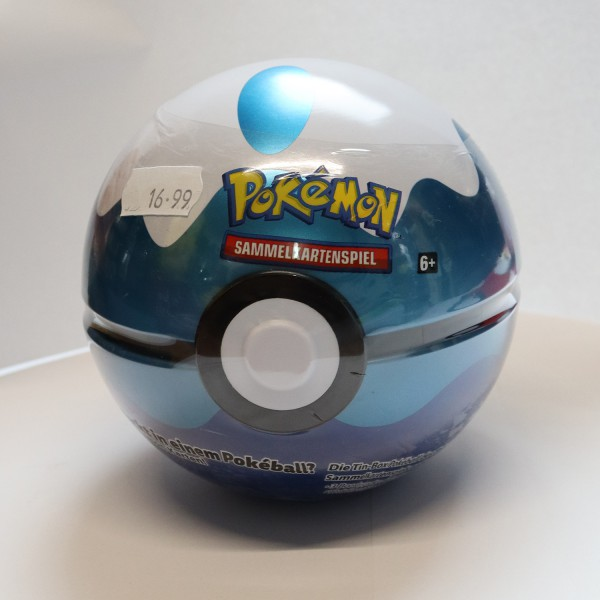 Pokeball Tin Waterball (DE)
