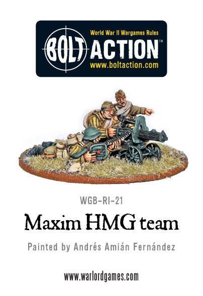 Soviet Maxim HMG Team