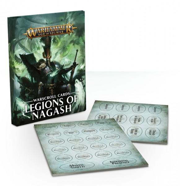 Warscroll-Karten: Legions of Nagash (DE)