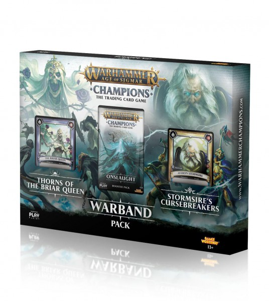 Warhammer Age of Sigmar: Champions Warband Collectors Pack (Engl.)