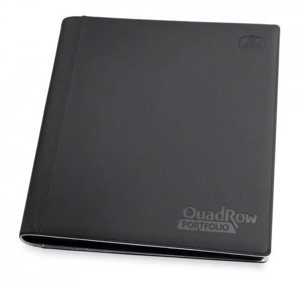Ultimate Guard 12-Pocket QuadRow Portfolio XenoSkin Schwarz