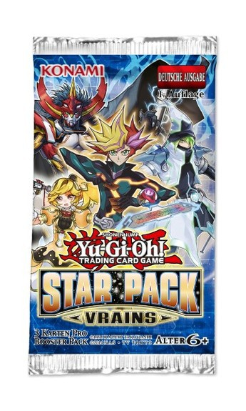 Yu-Gi-Oh! Star Pack: VRAINS Booster (DE)