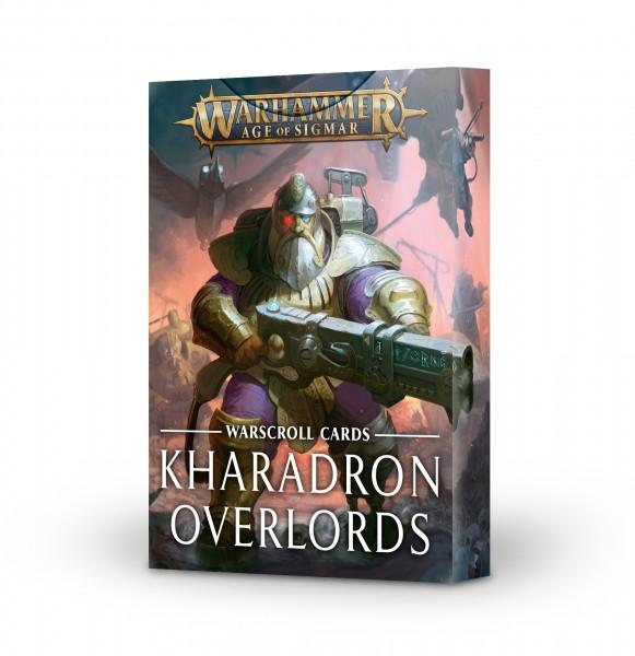 Schriftrolle-Karten: Kharadron Overlords (DE)