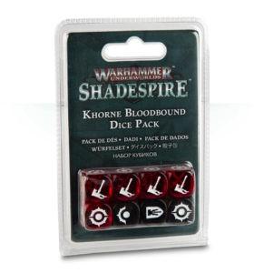 Warhammer Underworlds: Shadespire – Würfelset der Khorne Bloodbound