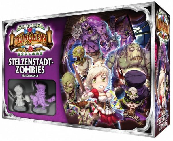 Super Dungeon Explore:Erw. Stelzenstadt-Zombies (DE)