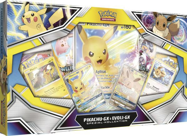 Pikachu-GX & Evoli-GX Spezial Kollektion (DE)