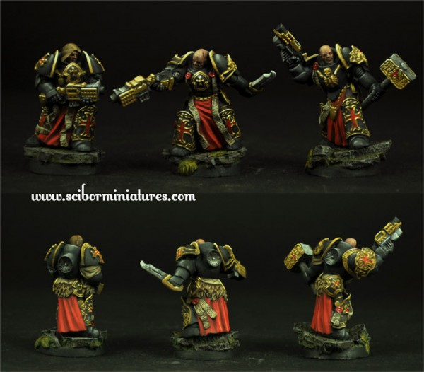 28mm Templar SF Veterans set