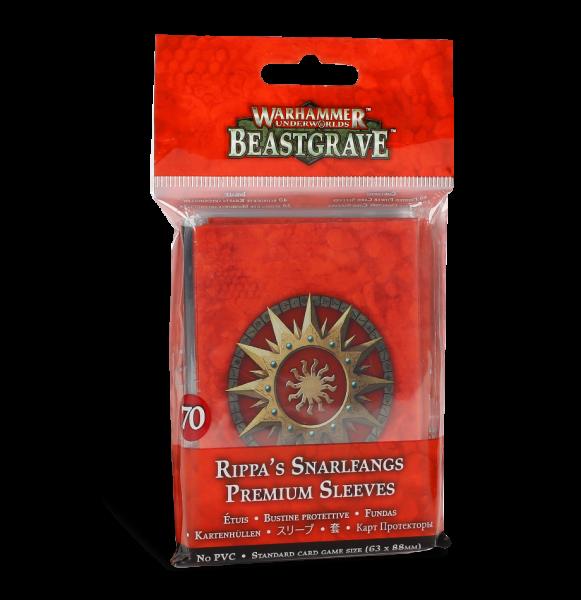 Warhammer Underworlds: Beastgrave – Premium-Kartenhüllen für Fetzas Zahnfletschas