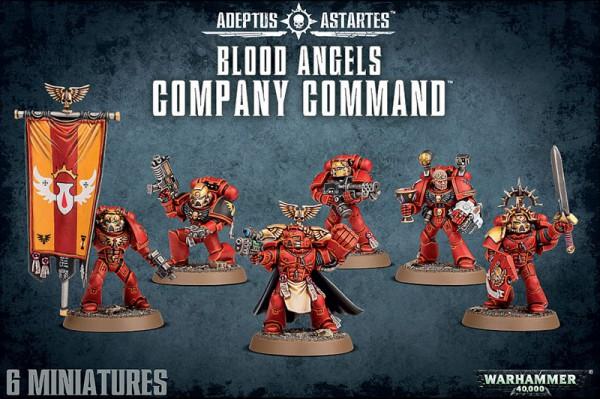 Blood Angels Command Squad